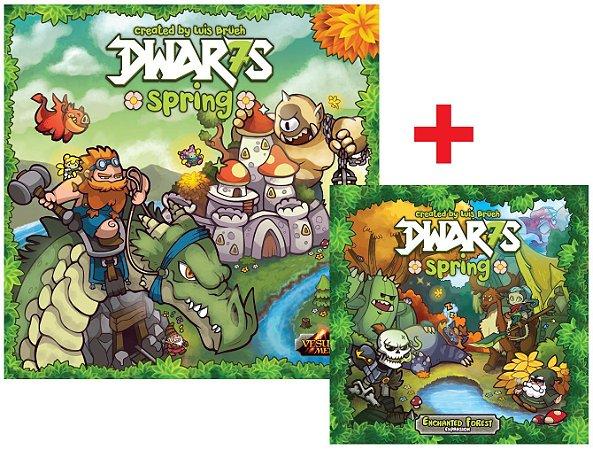 Dwar7s Spring + Exp. Enchanted Forest (Extras KS)