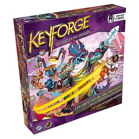 Keyforge Colisão Entre Mundos Starter Set