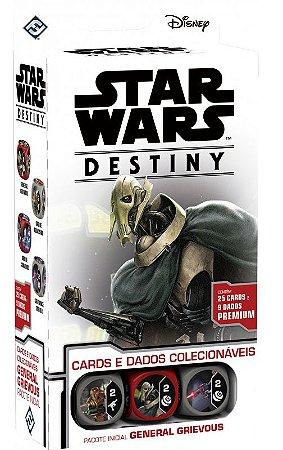 Star Wars Destiny - General Grievous Pacote Inicial