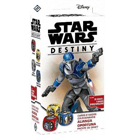 Star Wars Destiny - Aliança Oportuna Pacote de Draft