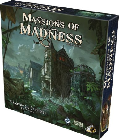 Mansions of Madness Caminho da Serpente