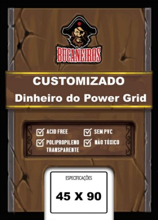 Sleeve Customizado 45x90 mm - Bucaneiros