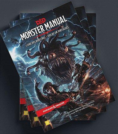 Dungeons and Dragons (5ª Edição) Livro dos Monstros