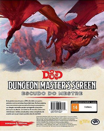 Dungeons and Dragons (5ª Edição) Dungeon Master's  Screen - Escudo do Mestre