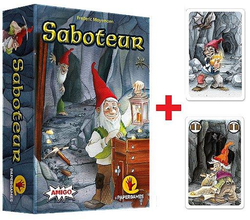 Saboteur + 2 Expansões