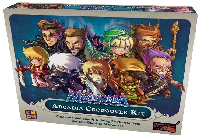 Masmorra Arcadia Quest Crossover Kit  (Pré-Venda)