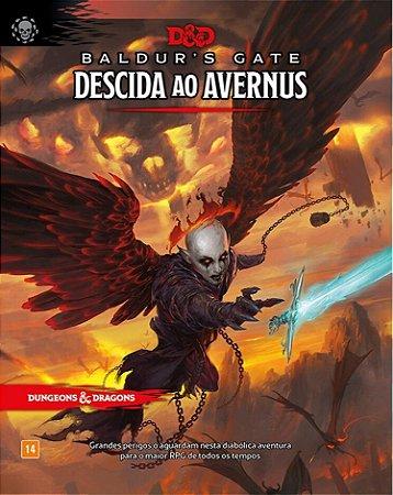 Dungeons and Dragons (5ª Edição) Baldur's Gate Descida ao Avernus