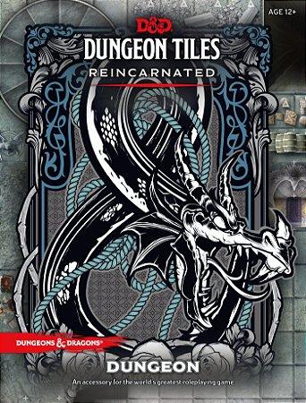 D&D: Dungeon Tiles Reincarnated - The Dungeon  (Inglês)
