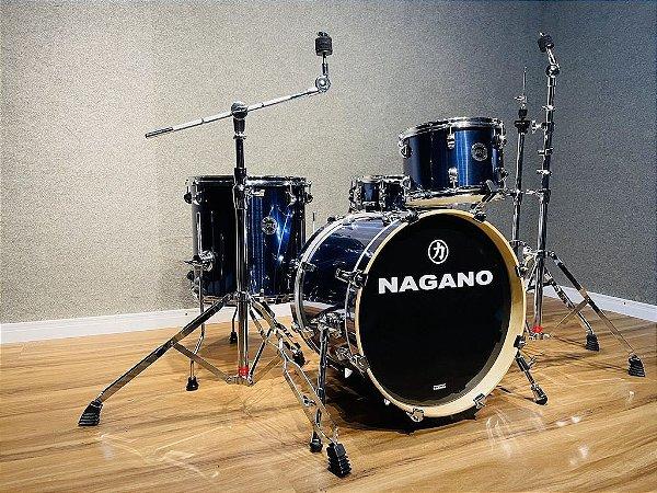 "Bateria Nagano World BeBop Blues Rage 18"" 12"" 14 "" CX 14x5"""