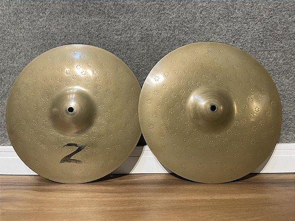"Prato Zildjian Z Custom Hi Hat 13"""