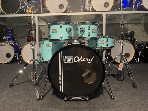 """Bateria Odery InRock Surf Green Limited Edition 22"""" 10"""" 12"""" 16"""""""