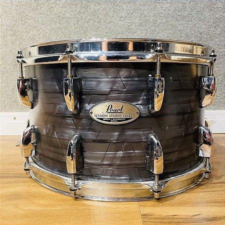 """Caixa Pearl Session Studio Select Molten Matte Black Pearl 14x8"""""""