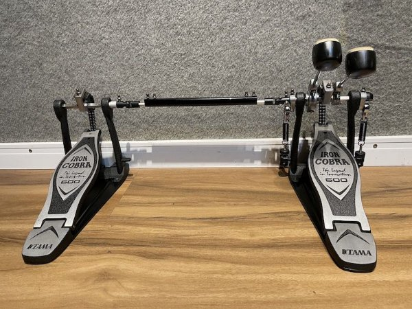 Pedal Duplo Tama Iron Cobra HP600 Corrente Dupla