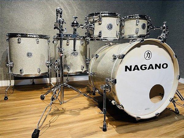 "Bateria Nagano Work Series Artic Sparkle 22"" 10"" 12"" 14"" 16"""