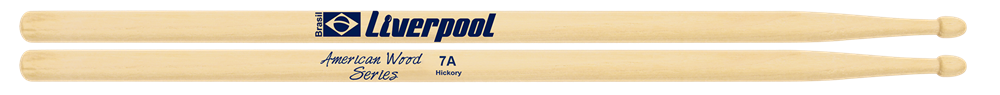 Baqueta American Hickory Liverpool 7A HY 7AM