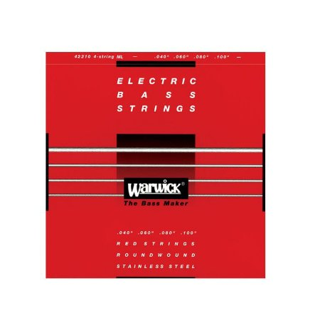 Encordoamento Baixo Warwick com 5 cordas 0,40