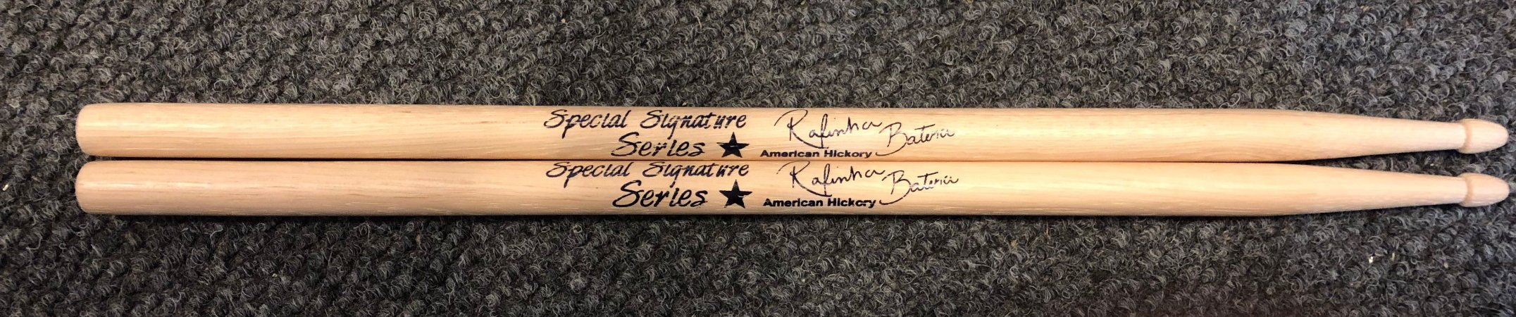 Baqueta Liverpool American Hickory Signature Rafinha Batera
