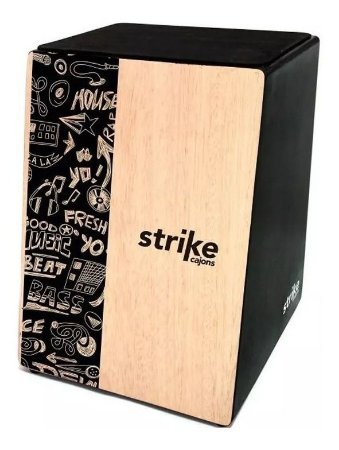 Cajon Acústico FSA Strike - SK5001 Music