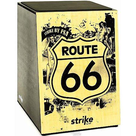 Cajon Acústico FSA Strike - SK5010 Route 66