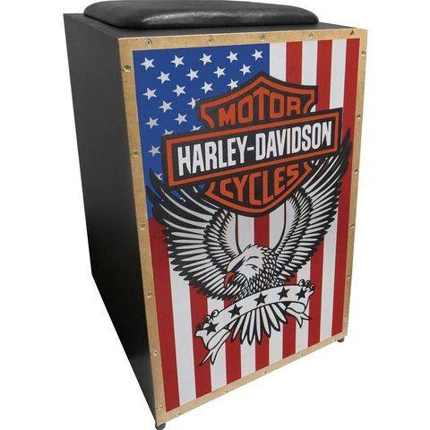 Cajon Elétrico Jaguar Harley Davidson USA K2COR-005