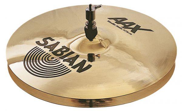 "Prato Sabian AAX Studio Hi Hat 14"""