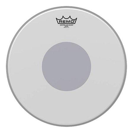 """Pele Remo CS Controlled Sound Porosa p/ Caixa 14"""""""