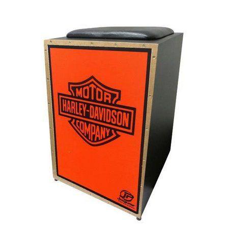 Cajon Elétrico Jaguar Harley Davidson K2COR-026