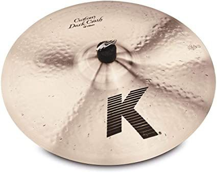 Prato Zildjian K Custom Dark Crash 18""