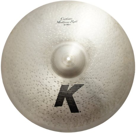 Prato Zildjian K Custom Medium Ride 22""