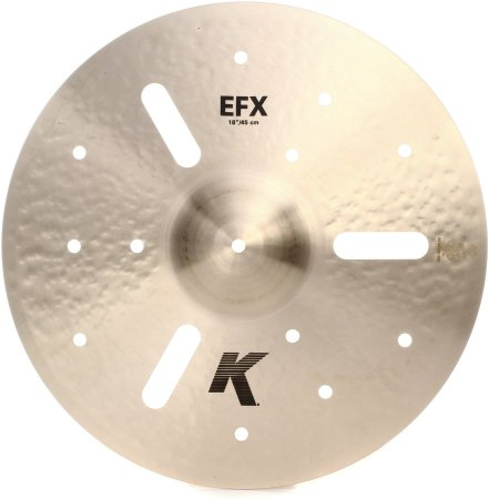 "Prato Zildjian K EFX Crash 18"""