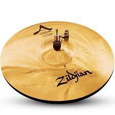 "Prato Zildjian A Custom Hi Hat 13"""