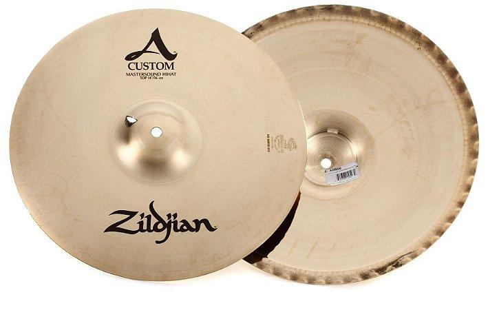 "Prato Zildjian A Custom Mastersound Hi Hat 14"""