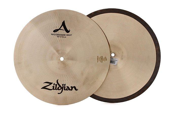 "Prato Zildjian A Mastersound Hi Hat 14"""
