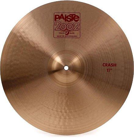 "Prato Paiste 2002 Crash 17"""