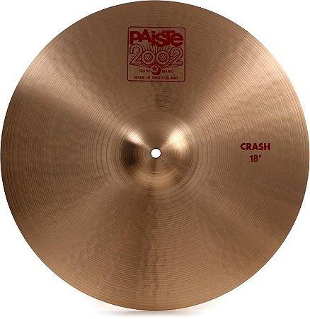 "Prato Paiste 2002 Crash 18"""