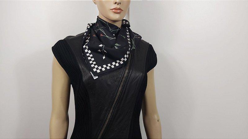 Christian Dior  - Lenço em Seda