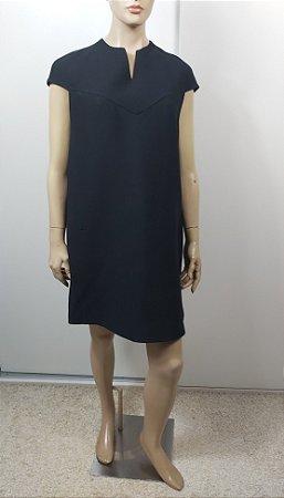 Christian Dior - Vestido curto lã