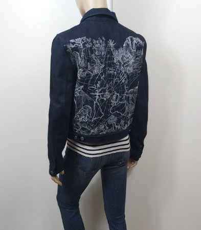 Christian Dior - Jaqueta jeans bordada / ss21