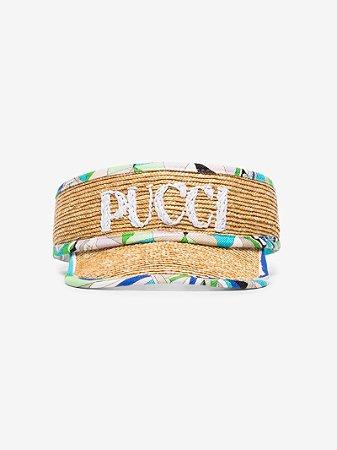 Emilio Pucci - Viseira com logo bordado