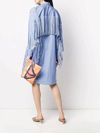 MSGM - Vestido listras