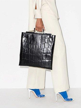 Givenchy - Bolsa tote com efeito de pele de crocodilo