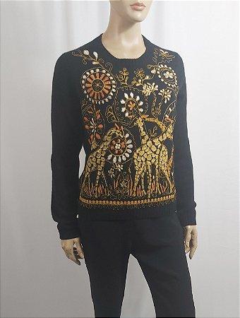 Christian Dior - Sueter cashmere Animals Girafas.