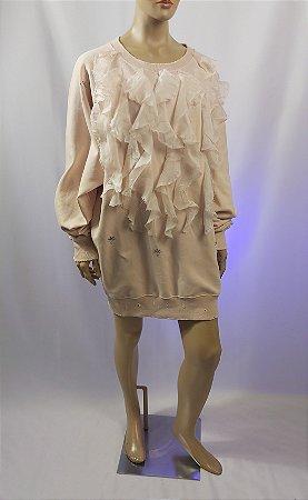 Faith Connection - Vestido moleton e seda