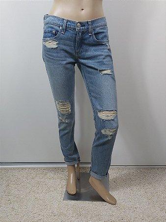 Calça Rag & Bone Destroyed Jeans