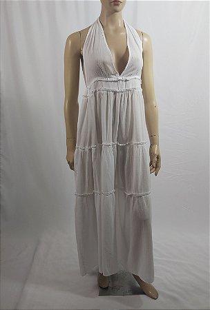 Calzedonia - Vestido longo branco