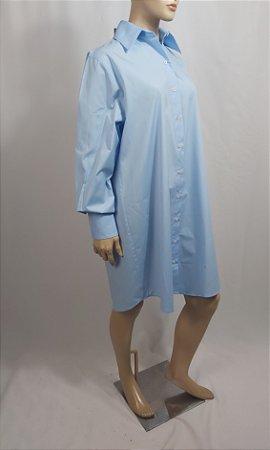 Une.Autre. Chemise -  Chemise azul