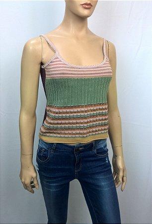 Daslu - Blusa trico decote