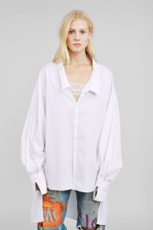 Faith Connexion - POPLIN SHIRT
