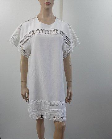 Burberry - Vestido off white
