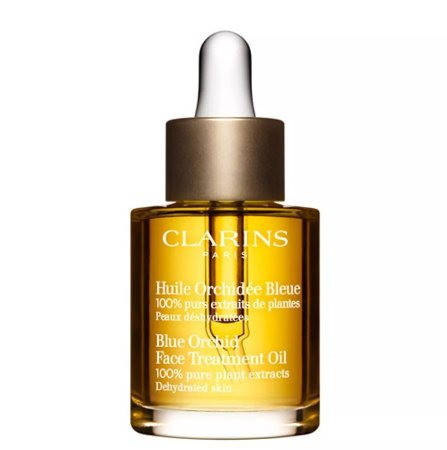 Clarins - Óleo de Tratamento Facial Clarins Huile Orchidée Bleue 30ml - Incolor